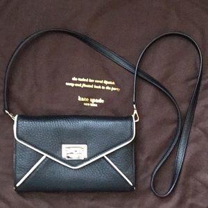 Kate Spade leather cross body wallet